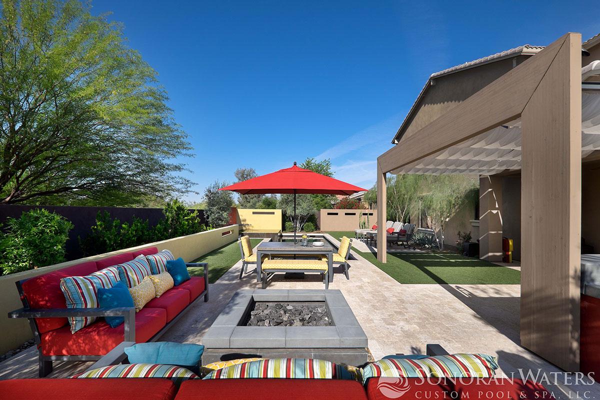 Sonoran Waters - Resort Style Modern Pool & Landscape in Scottsdale, AZ