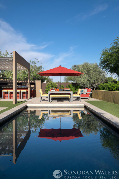 Sonoran Waters - Resort Style Modern Pool & Landscape in Scottsdale, AZ
