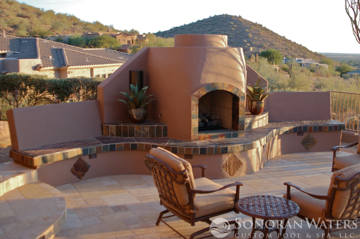 Sonoran Waters - Southwest Themed Backyard in Scottsdale AZ