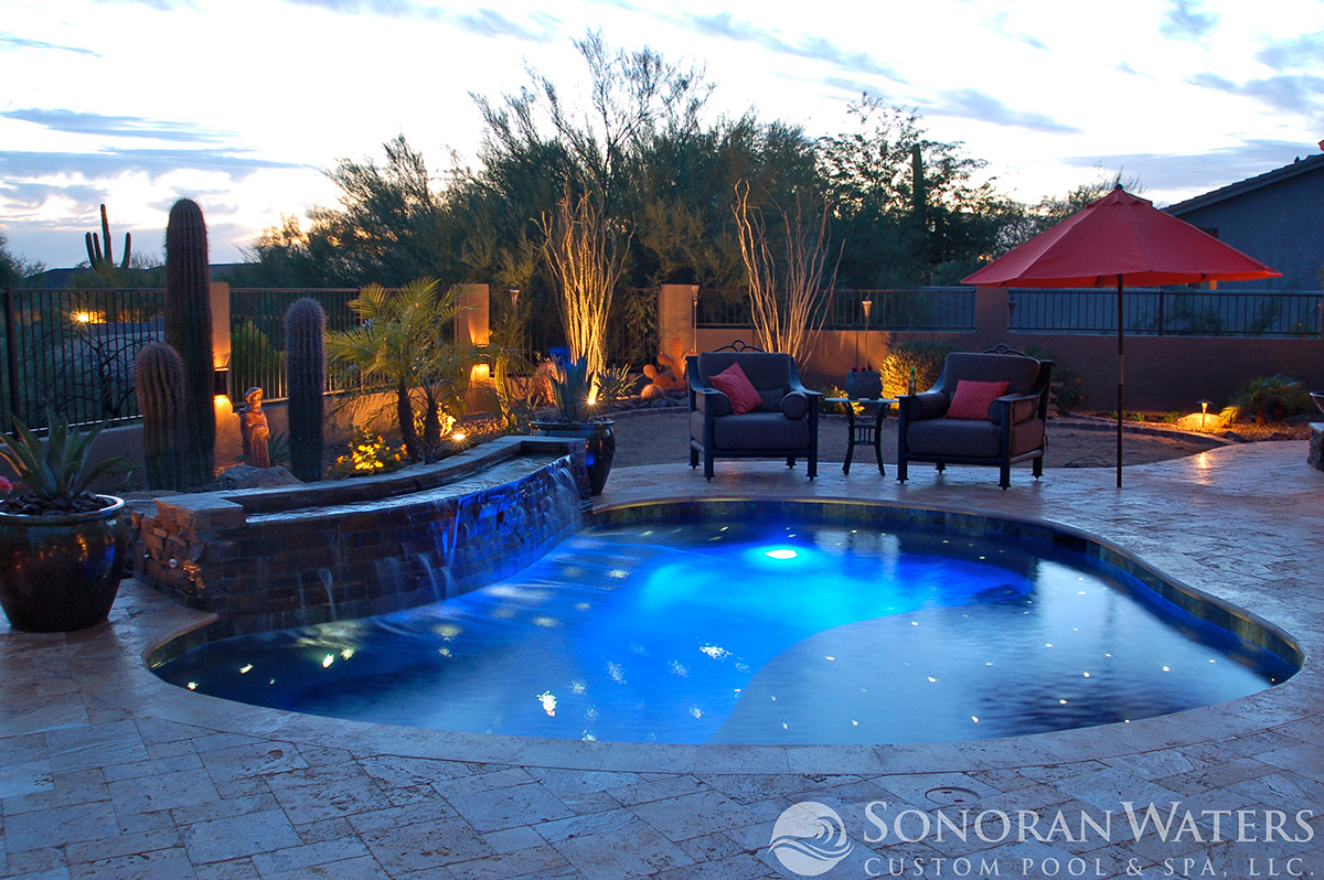Sonoran Waters - Pool Stars bring this Spool to Life in Scottsdale AZ