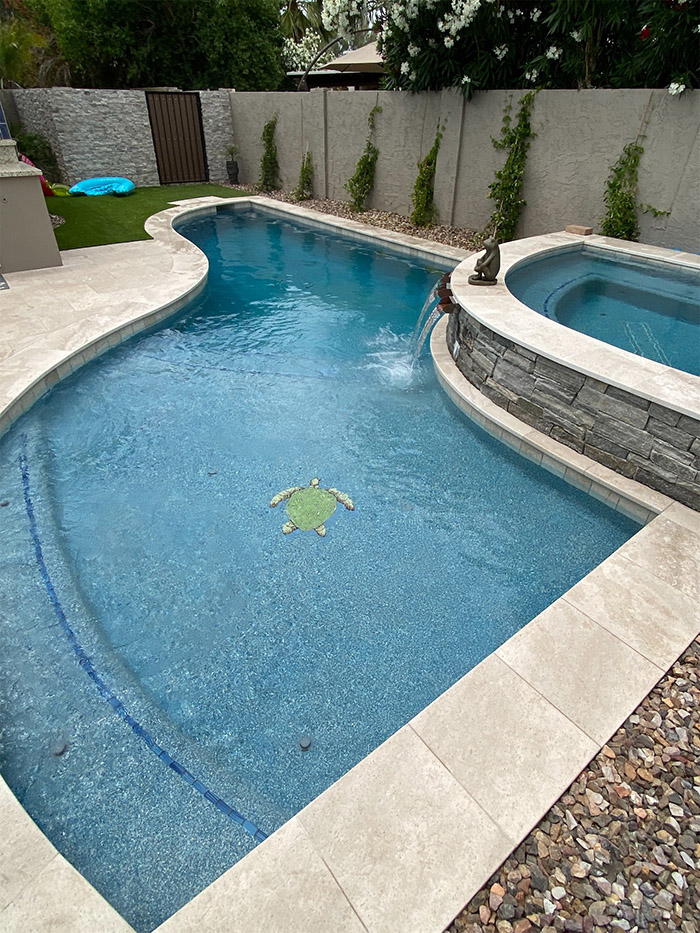 Sonoran Waters - weekly pool service report
